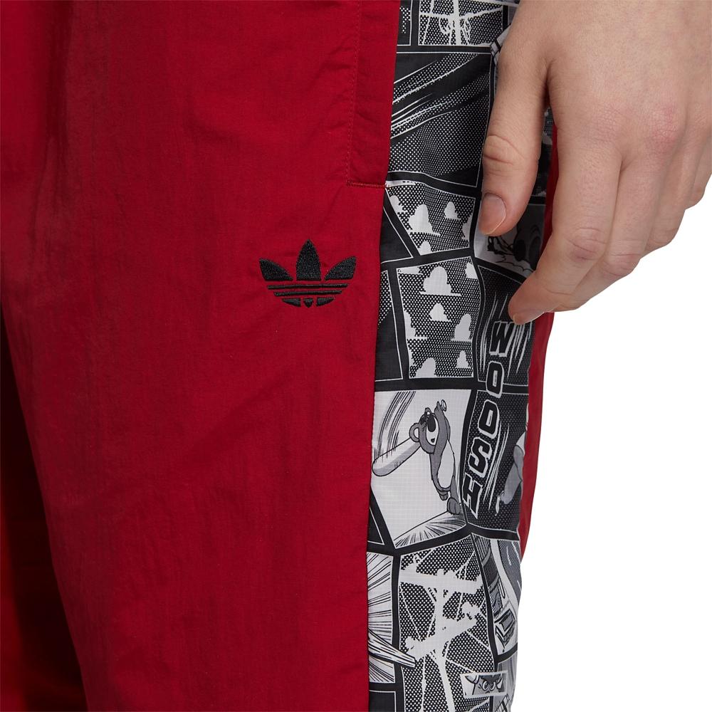 【adidas Originals】ピクサー ハーフパンツ マンガ Red