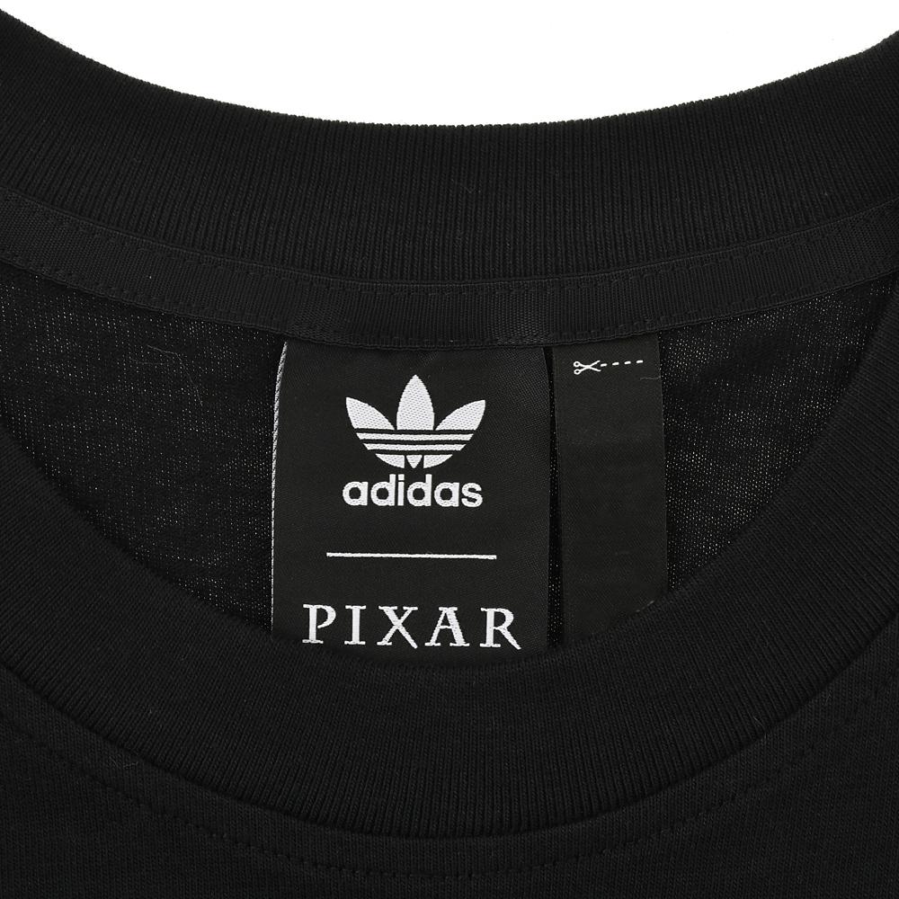 【adidas Originals】ピクサー 半袖Tシャツ ジェンダーニュートラル マンガ Black