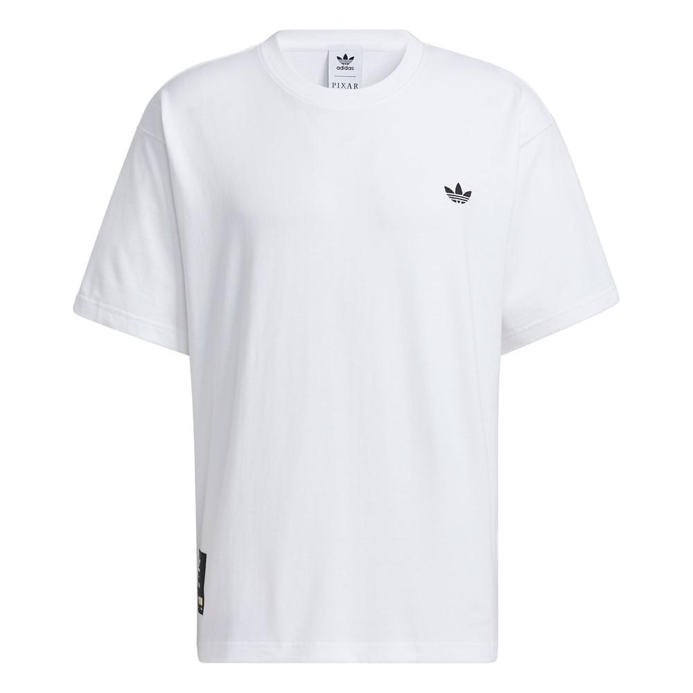 【adidas Originals】ピクサー 半袖Tシャツ ジェンダーニュートラル マンガ White
