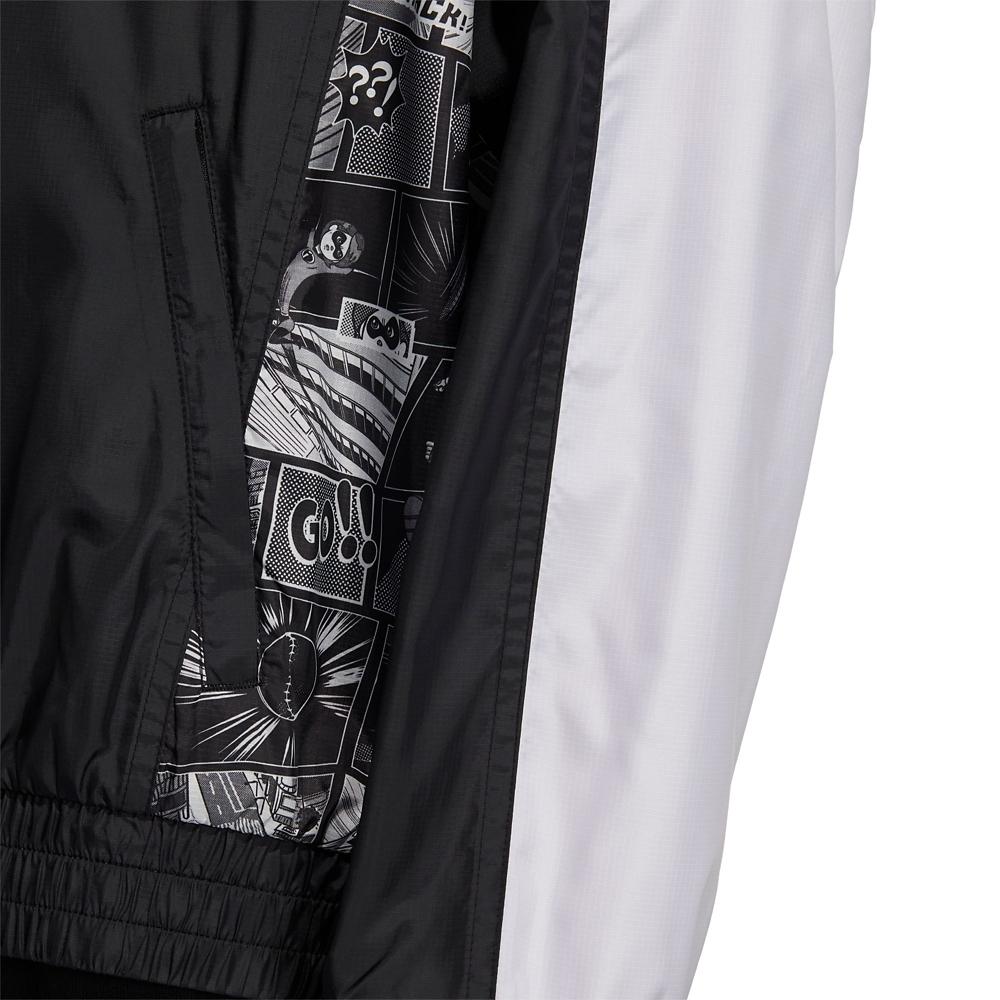 【adidas Originals】ピクサー ウインドブレーカー マンガ Black