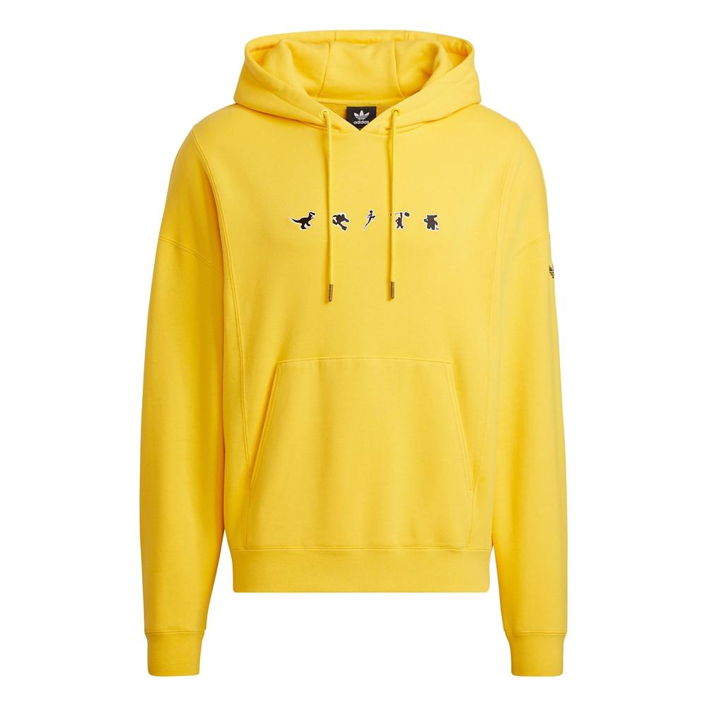 【adidas Originals】ピクサー パーカー ジェンダーニュートラル Yellow