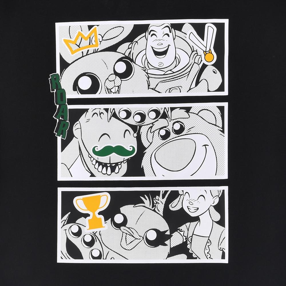 【adidas Originals】ピクサー 半袖Tシャツ ジェンダーニュートラル マンガBlack トイ・ストーリー