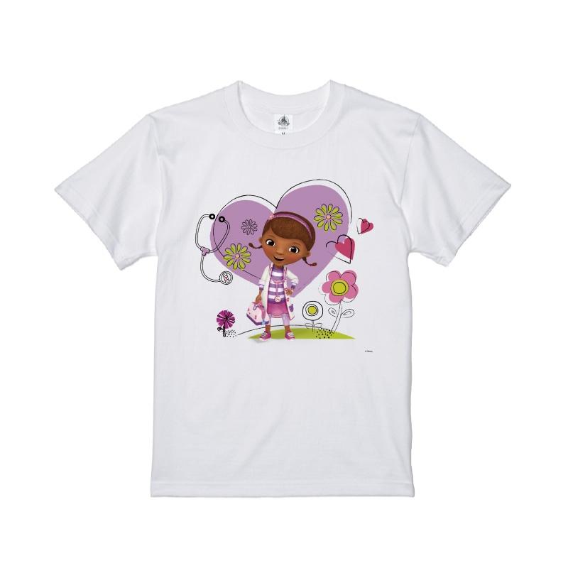 【D-Made】Tシャツ ドックはおもちゃドクター ドック ハート 草花