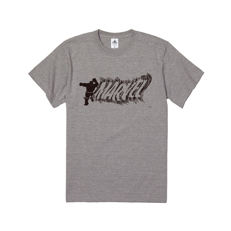【D-Made】Tシャツ MARVEL ロゴ ハルク シルエット