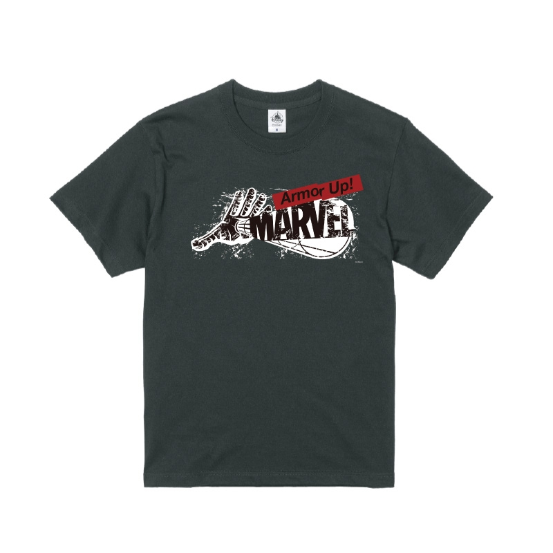 【D-Made】Tシャツ MARVEL ロゴ アイアンマン Armor Up!