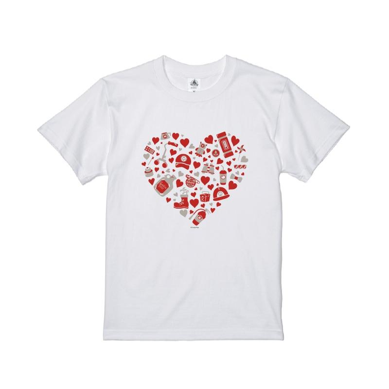 【D-Made】Tシャツ モンスターズ・インク ハート モチーフ
