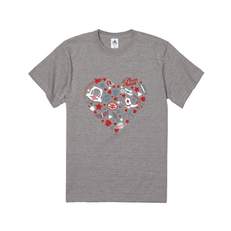 【D-Made】Tシャツ トイ・ストーリー ハート モチーフ