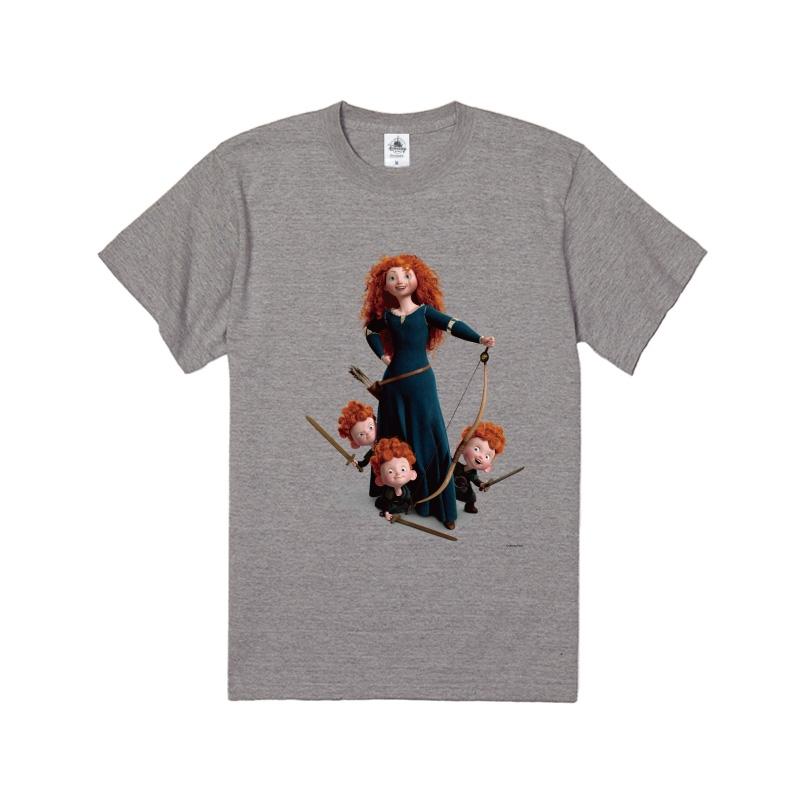【D-Made】Tシャツ メリダとおそろしの森 メリダ&ハリス&ヒューバート&ヘイミッシュ
