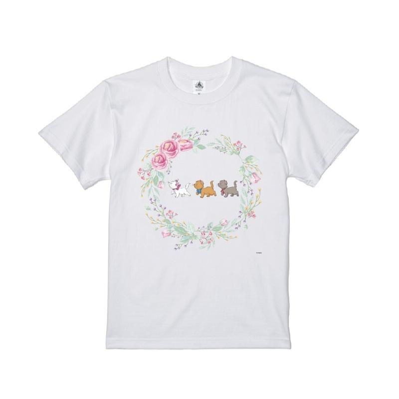 【D-Made】Tシャツ おしゃれキャット マリー&トゥルーズ&ベルリオーズ 行進 Cat Day