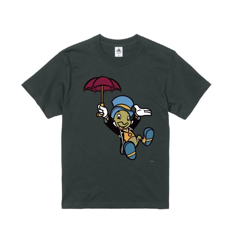 【D-Made】Tシャツ ピノキオ ジミニー・クリケット 傘