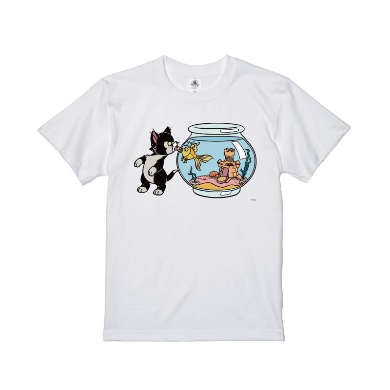 【D-Made】Tシャツ ピノキオ フィガロ&クレオ