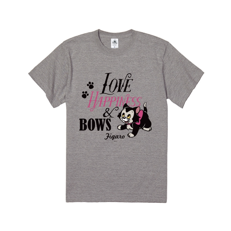 【D-Made】Tシャツ フィガロ LOVE HAPPINESS & BOWS