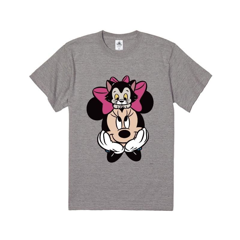【D-Made】Tシャツ ミニー&フィガロ リボン