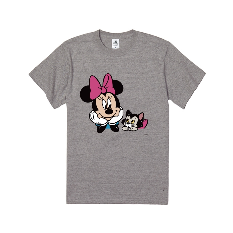 【D-Made】Tシャツ ミニー&フィガロ ペア 仲良し