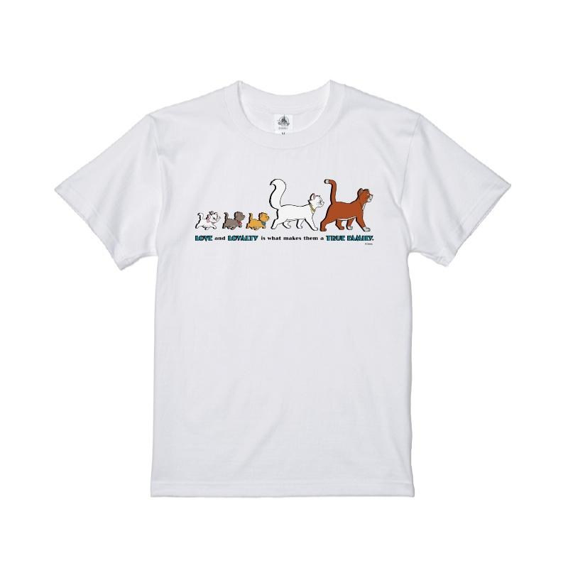 【D-Made】Tシャツ おしゃれキャット マリー&トゥルーズ&ベルリオーズ&ダッチェス&トーマス・オマリー TRUE FAMILY