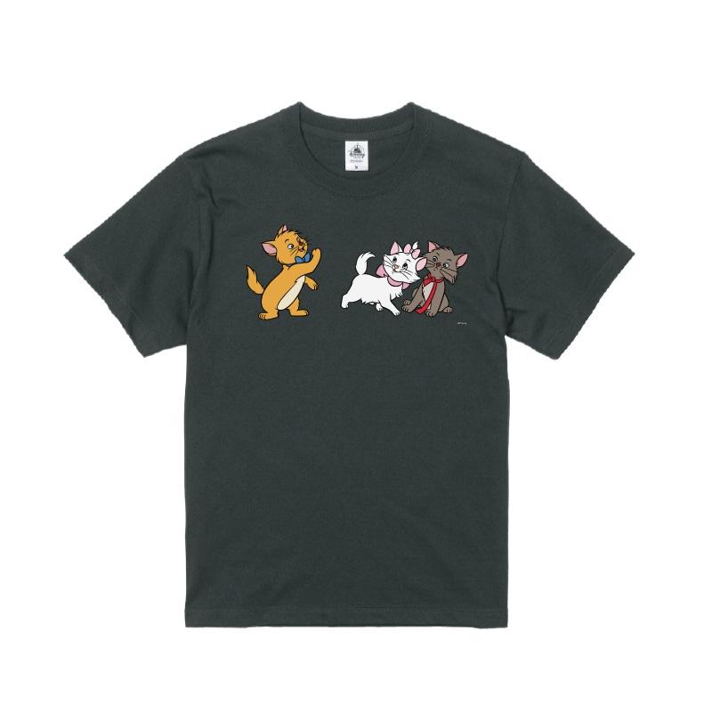 【D-Made】Tシャツ おしゃれキャット マリー&トゥルーズ&ベルリオーズ