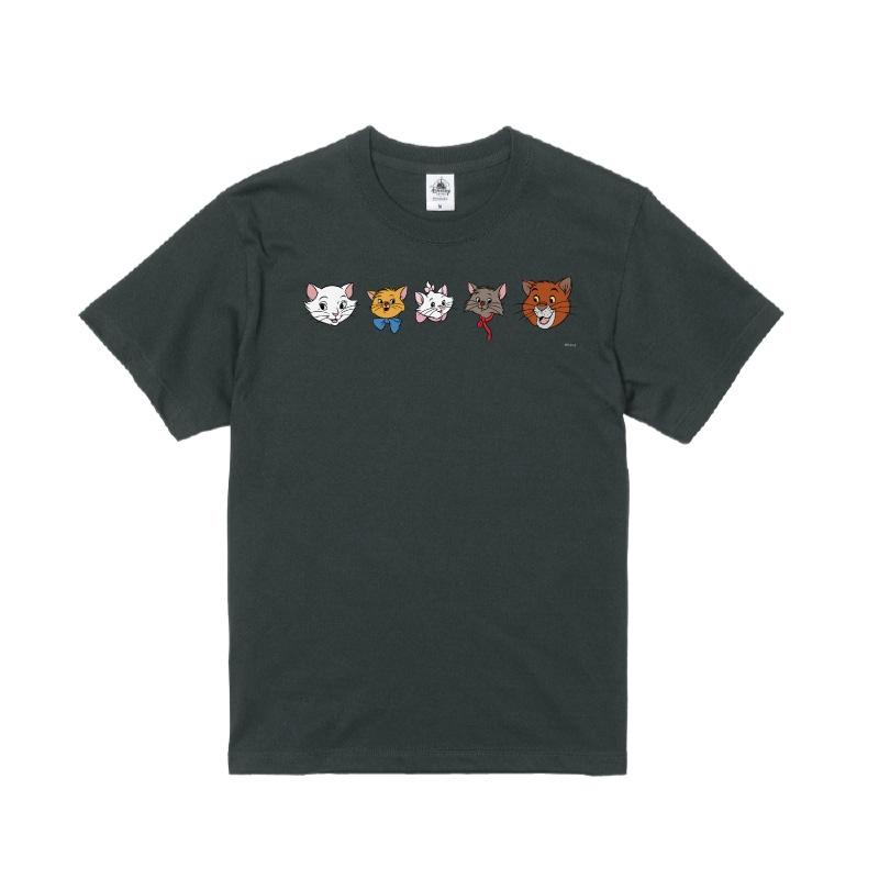 【D-Made】Tシャツ おしゃれキャット マリー&トゥルーズ&ベルリオーズ&ダッチェス&トーマス・オマリー フェイス