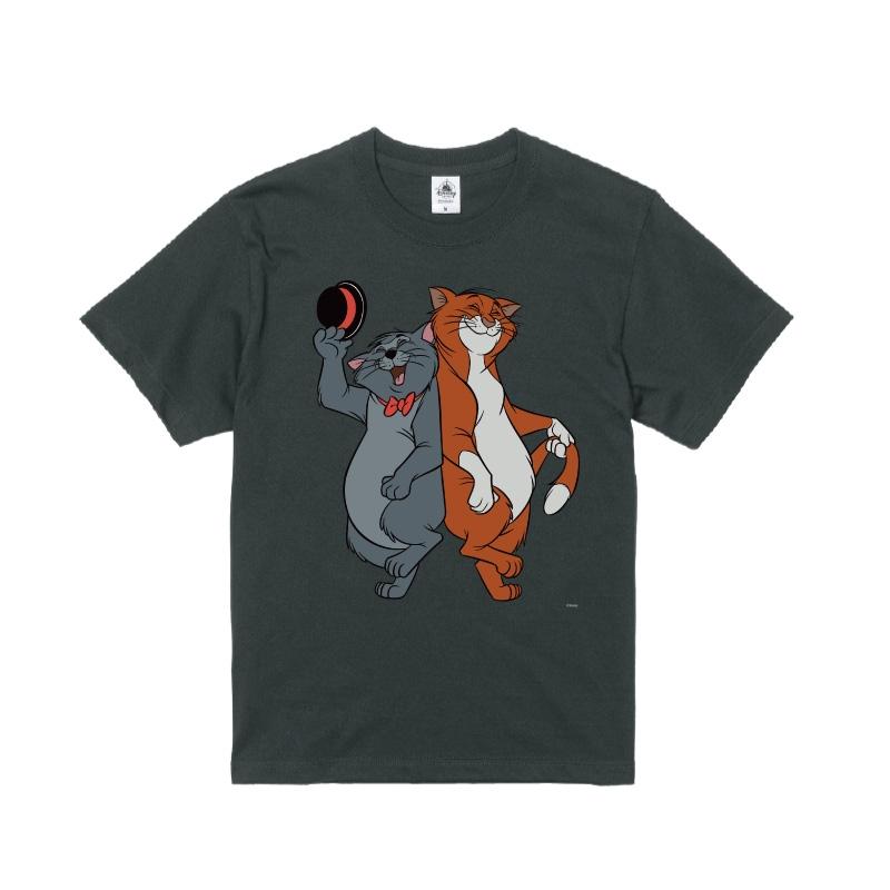 【D-Made】Tシャツ おしゃれキャット トーマス・オマリー&ジャズ猫 ペア