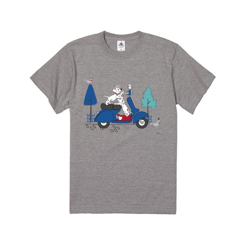【D-Made】Tシャツ 101匹わんちゃん バイク