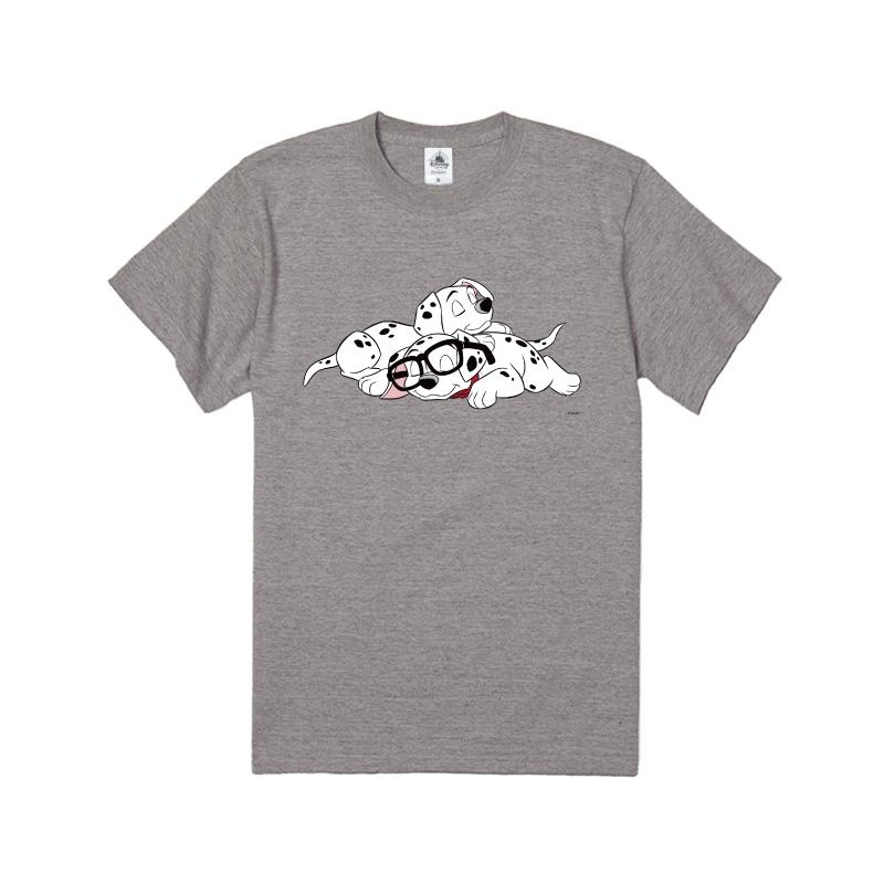 【D-Made】Tシャツ 101匹わんちゃん メガネ お昼寝