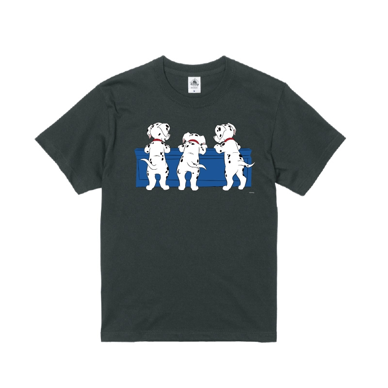 【D-Made】Tシャツ 101匹わんちゃん 後ろ姿