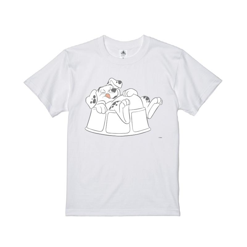 【D-Made】Tシャツ 101匹わんちゃん ローリー 満腹