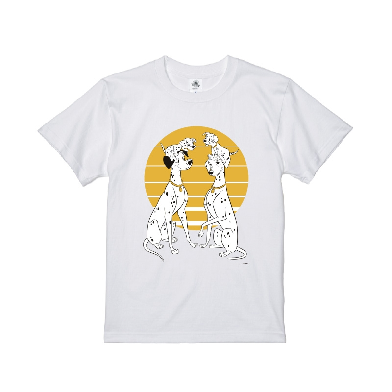 【D-Made】Tシャツ 101匹わんちゃん ポンゴ&パディータ&子犬達