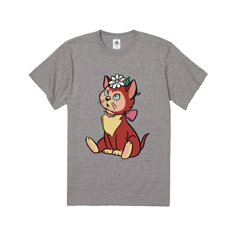 【D-Made】Tシャツ ふしぎの国のアリス ダイナ 花