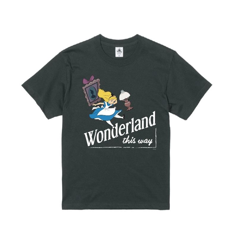 【D-Made】Tシャツ ふしぎの国のアリス Wonderland this way