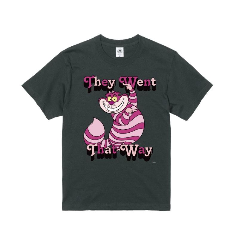 【D-Made】Tシャツ ふしぎの国のアリス チェシャ猫 They Went That Way