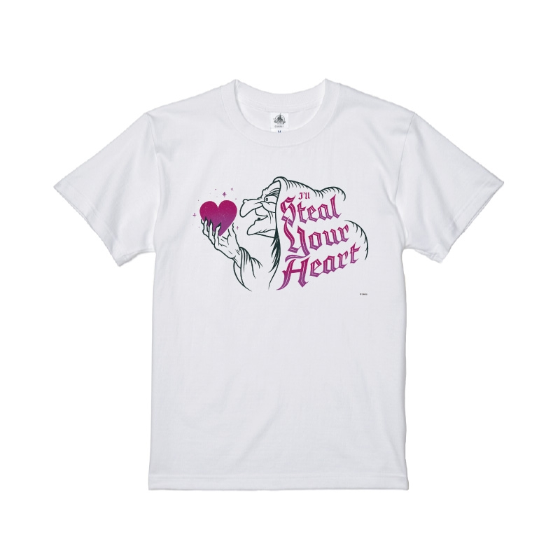 【D-Made】Tシャツ 白雪姫  魔女 ハート Steal Your Heart