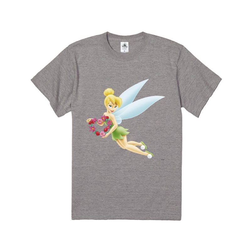 【D-Made】Tシャツ ピーター・パン ティンカー・ベル 花 ハート