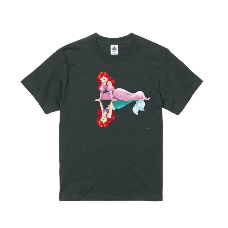 【D-Made】Tシャツ リトル・マーメイド アリエル ピンクドレス