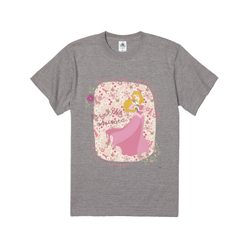 【D-Made】Tシャツ 眠れる森の美女 オーロラ姫 PRETTY AS A ROSE