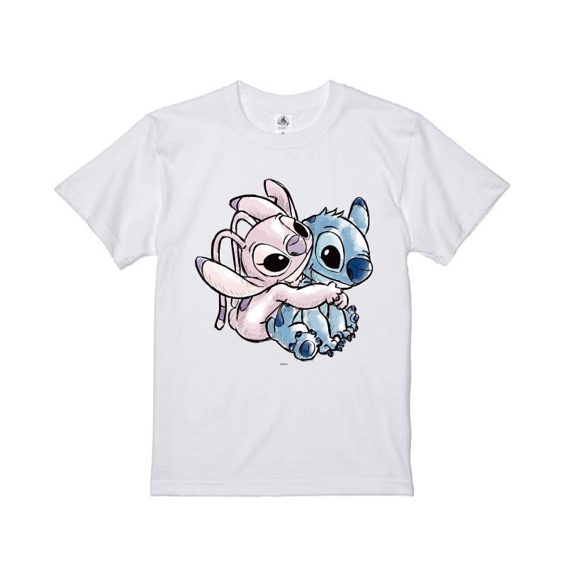【D-Made】Tシャツ スティッチ&エンジェル バックハグ