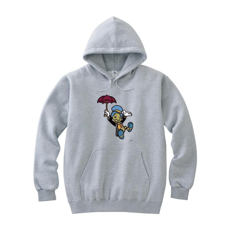 【D-Made】パーカー ピノキオ ジミニー・クリケット 傘