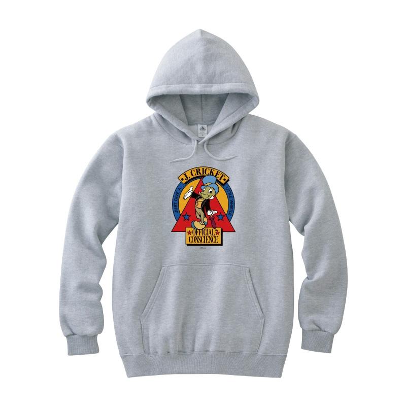 【D-Made】パーカー ピノキオ ジミニー・クリケット 公認の良心
