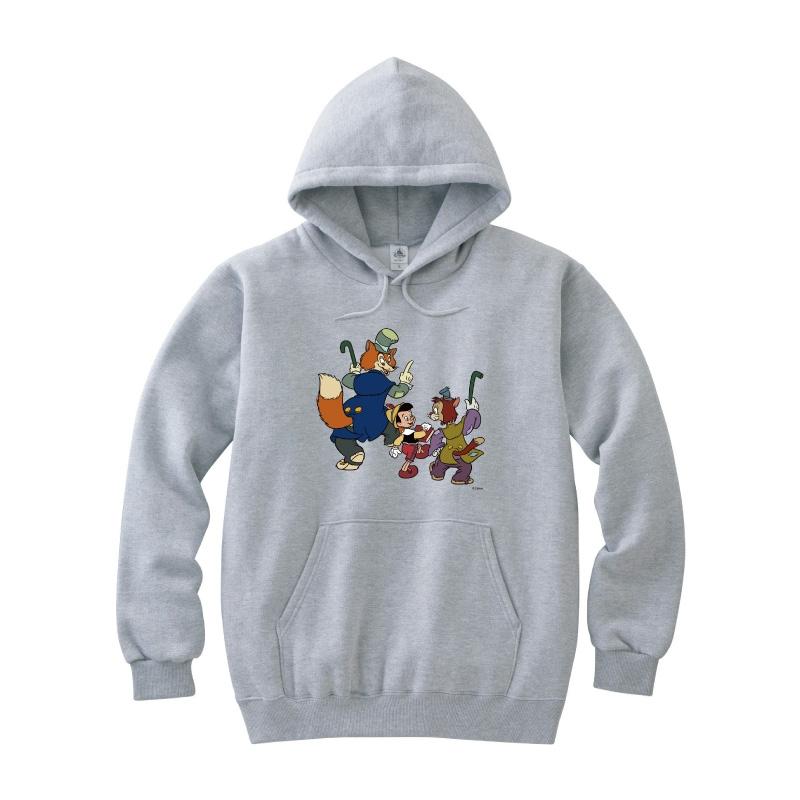 【D-Made】パーカー ピノキオ ピノキオ&正直ジョン&ギデオン