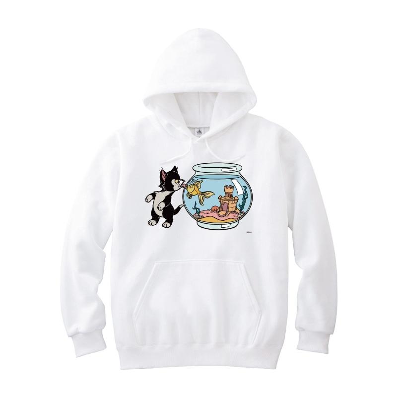 【D-Made】パーカー ピノキオ フィガロ&クレオ