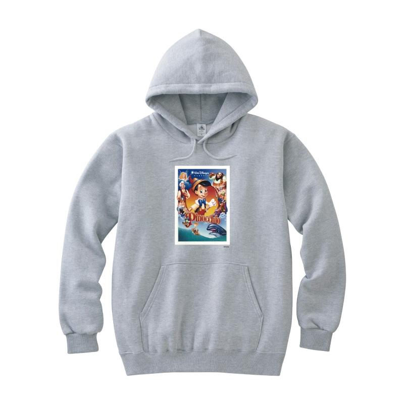 【D-Made】パーカー ピノキオ ポスターアート風