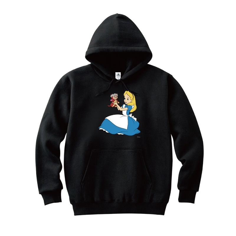 【D-Made】パーカー ふしぎの国のアリス アリス&ダイナ 抱っこ 花冠