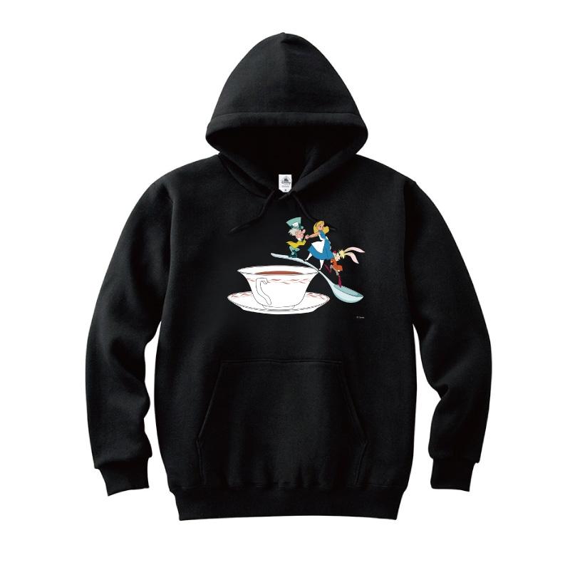 【D-Made】パーカー ふしぎの国のアリス アリス&マッドハッター&3月うさぎ ティーカップ