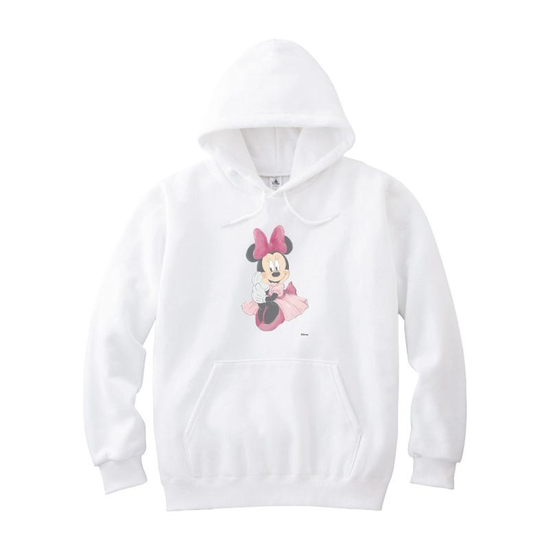 【D-Made】パーカー ミニー ピンクドレス