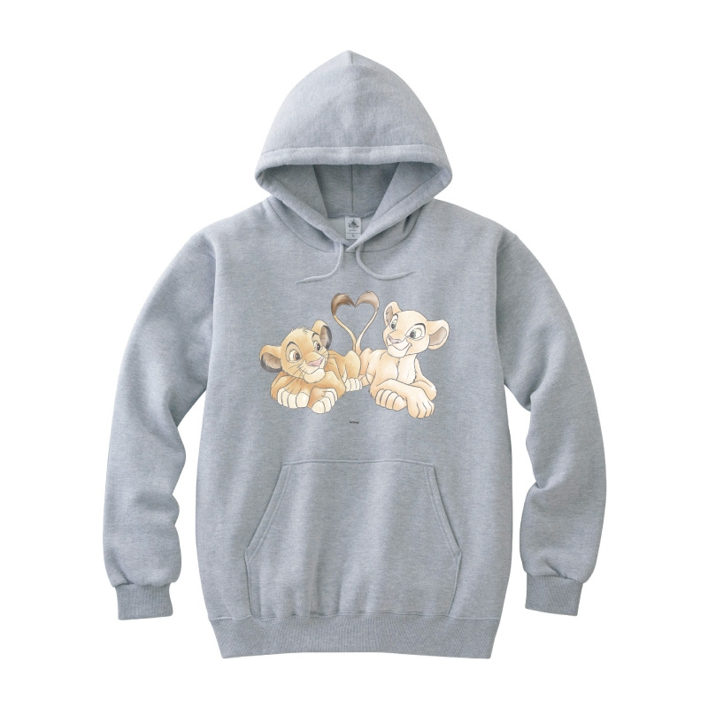 【D-Made】パーカー ライオン・キング シンバ&ナラ 尻尾 ハート