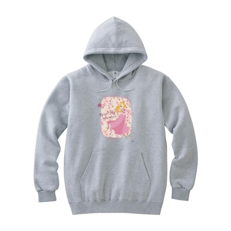 【D-Made】パーカー 眠れる森の美女 オーロラ姫 PRETTY AS A ROSE
