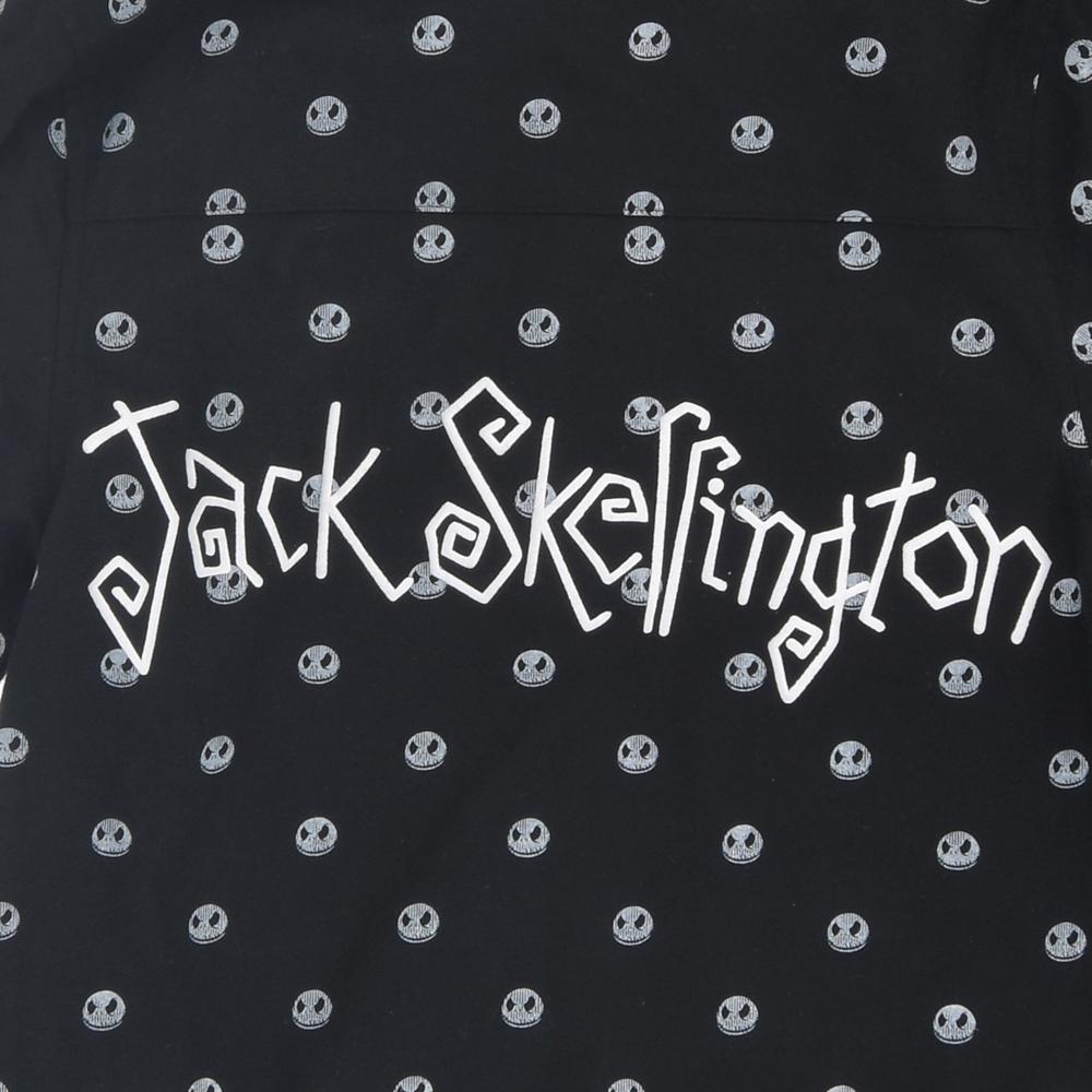 ジャック・スケリントン 長袖シャツ フェイス 総柄
