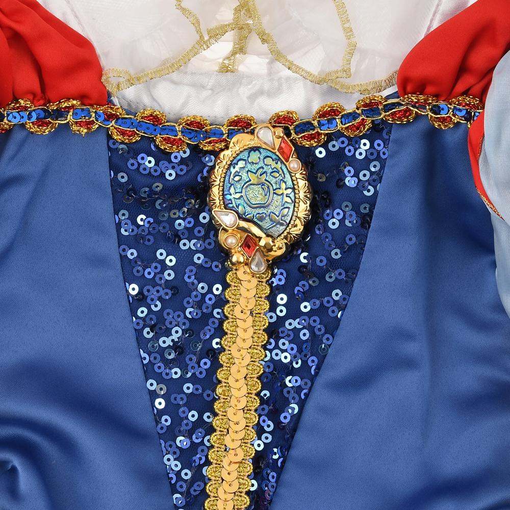白雪姫 キッズ用ドレス スパンコール