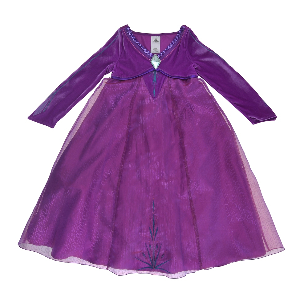 エルサ キッズ用ドレス シンギング アナと雪の女王2
