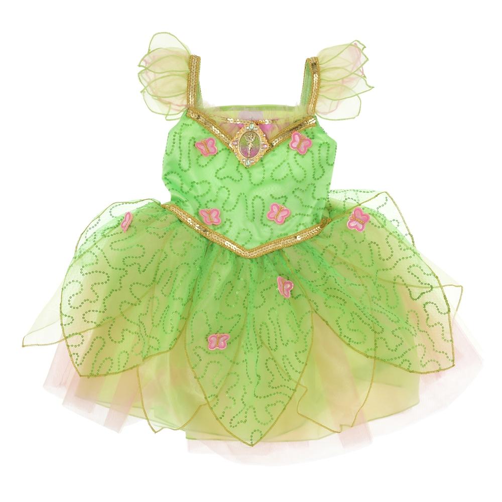 ティンカー・ベル キッズ用ドレス スパンコール