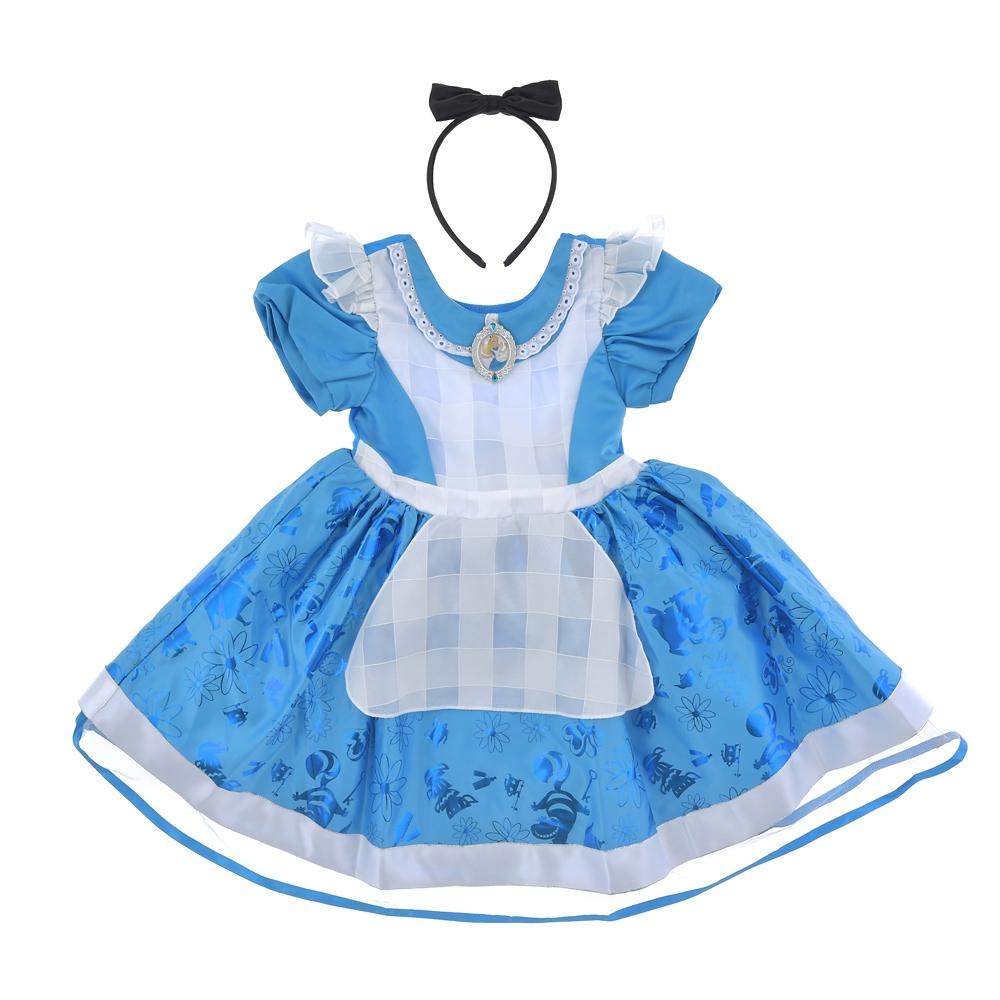 アリス キッズ用ドレス カチューシャ付き